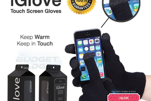 Sarung Tangan Touch Screen Untuk Gojek, Grab Dan Lainnya