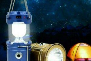 Lampu Emergency Lentera Solar Mini Beserta Senter